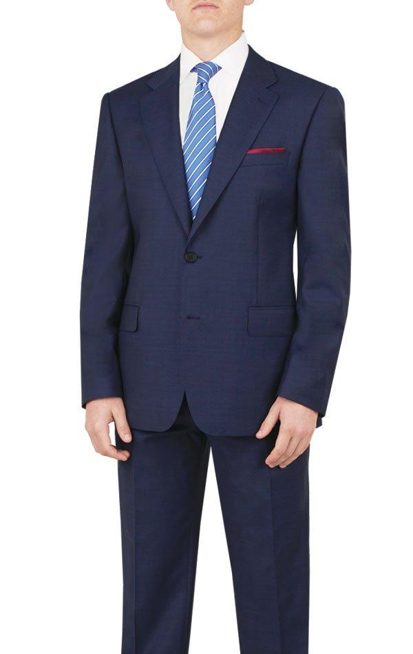 Buy Paul Costelloe 100% Wool Royal Navy Blue Suit Online | MyTuxedo